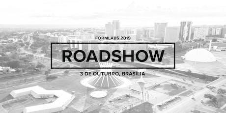 Formlabs Brasília Roadshow 2019 ingressos