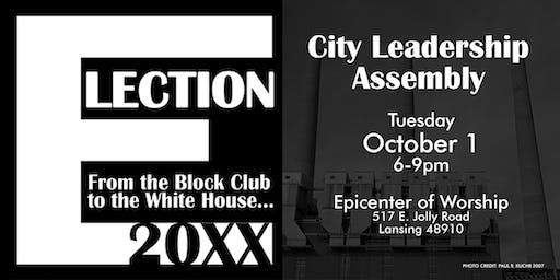 Election 20XX City Leadership Assembly