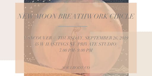 NEW MOON BREATHWORK CIRCLE
