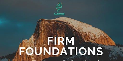 Firm Foundations: A 12 week course on Islam, Faith & Spirituality