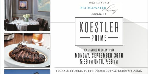 Bridgewater Living Social at Koestler Prime