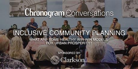 Inclusive Community Planning - Chronogram Conversations tickets
