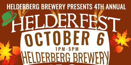 Helderfest 2019 | 4th Annual Oktoberfest Celebration tickets
