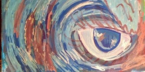 """Pour & Paint """"Wave"""""""