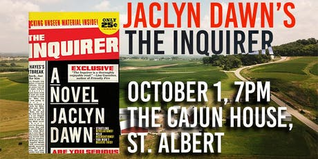 Jaclyn Dawn launches The Inquirer in St. Albert tickets