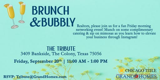 Brunch & Bubbly at The Tribute