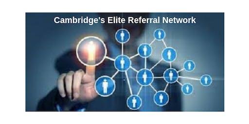 CAMBRIDGE REFERRAL CONNECTORS VISITORS DAY