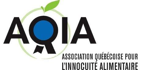 Assemblée générale annuelle de l'AQIA billets