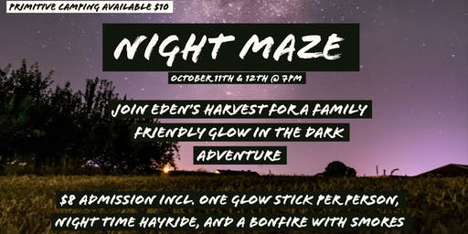 Eden's Harvest Night Maze