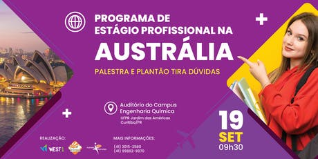 Programa de Estágio Profissional na Austrália! ingressos