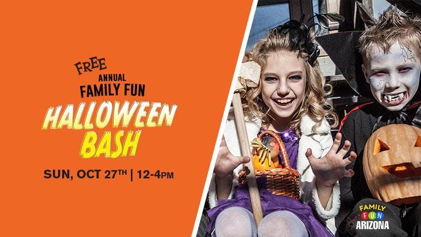 Annual Family Fun Halloween Bash