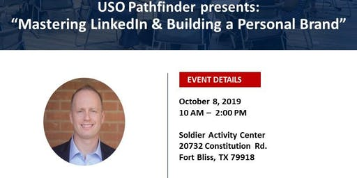 "USO Pathfinder  presents:  ""Mastering LinkedIn & Building a Personal Brand"""
