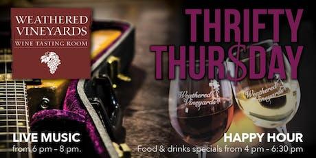 Thrifty Thursday @ Weathered Vineyards Ephrata tickets