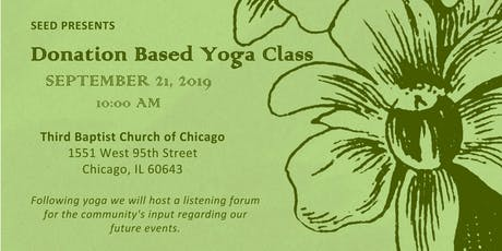 Donation Based Yoga Class tickets