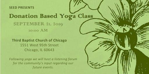 Donation Based Yoga Class