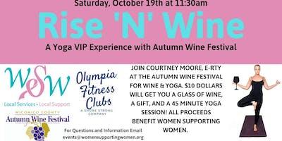 Rise 'N' Wine a Yoga VIP Experience