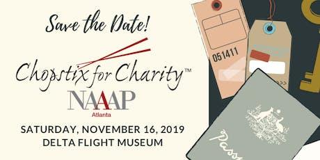 2019 Chopstix for Charity Gala tickets
