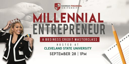 Millennial Entrepreneur- Business Credit Building with Irene Day