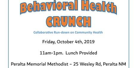 Behavioral Health CRUNCH tickets