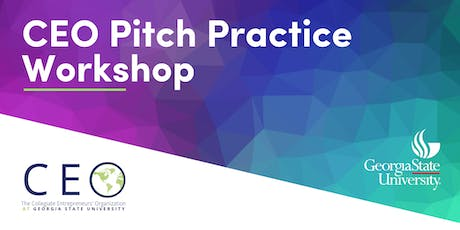 CEO Pitch Practice Workshop tickets