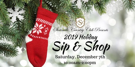 2019 Holiday Sip & Shop tickets