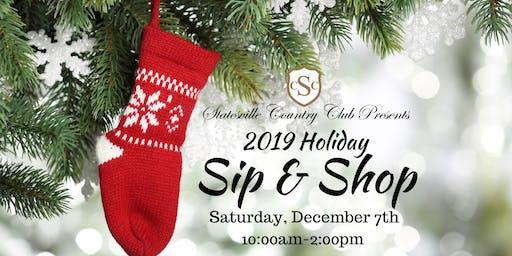2019 Holiday Sip & Shop