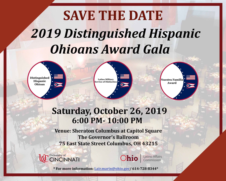 2019 The Distinguished Hispanic Ohioan Awards Gala at Sheraton Columbus Capitol Square