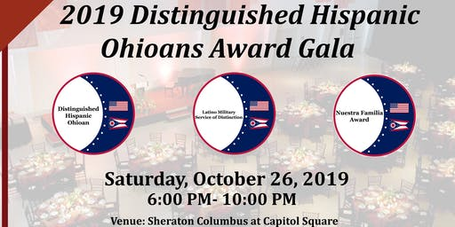 2019 The Distinguished Hispanic Ohioan Awards Gala at Sheraton Columbus Capitol Square