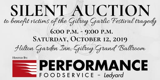 Silent Auction to benefit the Gilroy Garlic Festival Victims Relief Fund