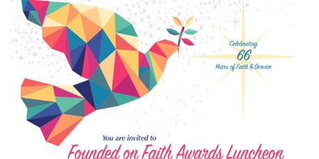Founded on Faith Luncheon tickets