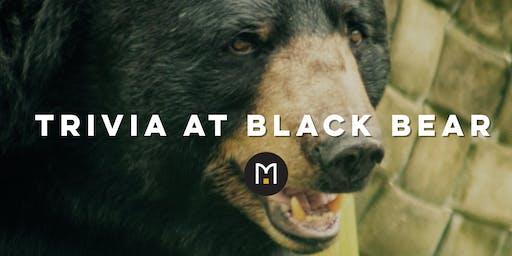 Trivia at Black Bear