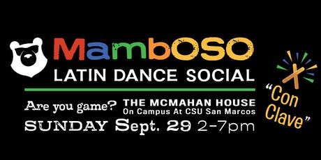 MambOSO Latin Dance Social tickets