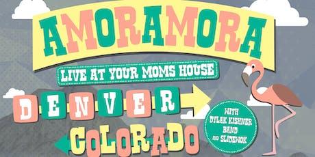 Amoramora w/ Dylan Kishner Band, Slidewok at YMH tickets