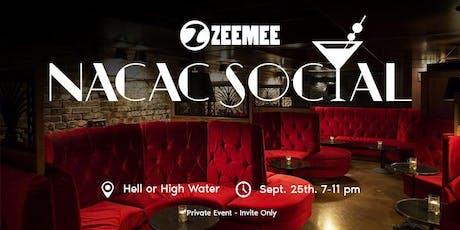 ZeeMee NACAC Social tickets