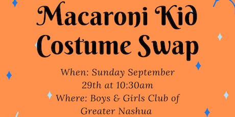 Macaroni Kid Nashua/Manchester Second Annual Costume Swap  tickets