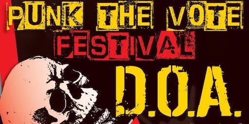 D.O.A. Punk The Vote