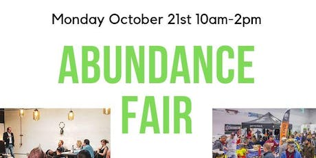 Abundance Fair Quarterly Networking Group at the Soccer Haus Mon Oct 21 '19 tickets