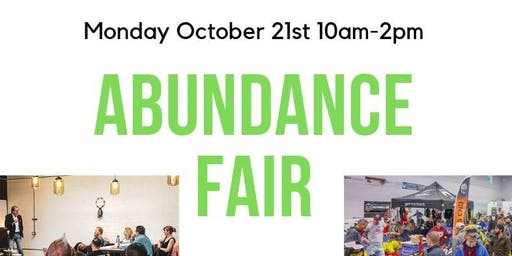Abundance Fair Quarterly Networking Group at the Soccer Haus Mon Oct 21 '19