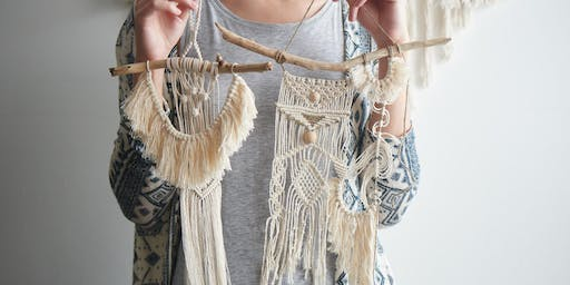 Urban Hippie Woodstock Night & Macrame Workshop