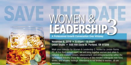 Women & Leadership 3: A Professional Growth Conversation Over Whiskey tickets