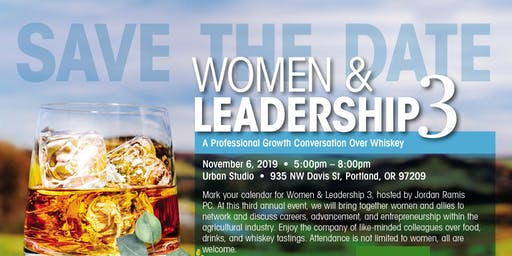Women & Leadership 3: A Professional Growth Conversation Over Whiskey