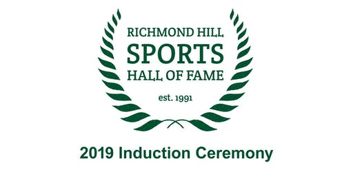 Richmond Hill Sports Hall of Fame   Class of 2019 Induction Ceremony