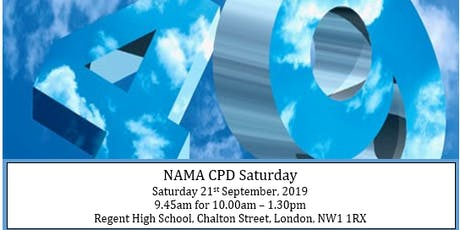 NAMA CPD Saturday - What to do when lacking maths resources when teaching / Supporting teachers with maths anxiety to become more confident with learning and teaching mathematics tickets