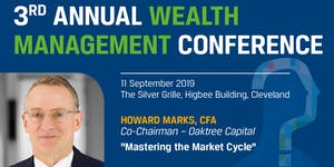 CFA Society Cleveland Wealth Management Conference,...