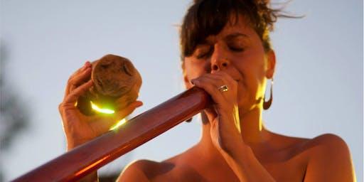 Agustina Mosca: Argentina's primary didgeridoo player visits Edinburg