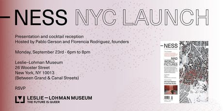 NESS NYC Launch tickets