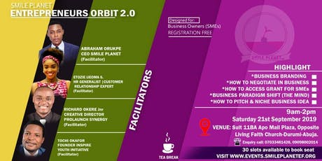 ENTREPRENEURS ORBIT 2.0. tickets
