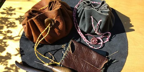 Leather Purse Making Workshop  tickets