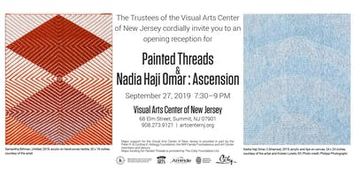 Visual Arts Center of New Jersey Fall Exhibitions Opening