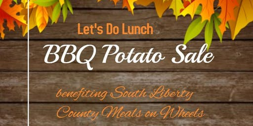 Meals on Wheels BBQ Potato Fundraiser